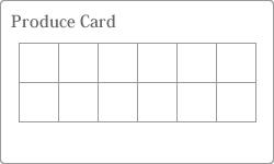 プロデュースカード